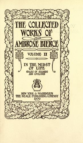 The collected works of Ambrose Bierce …