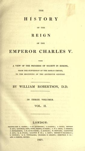 Download The Works of William Robertson, D.D.