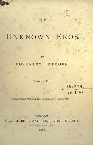 The unknown eros.