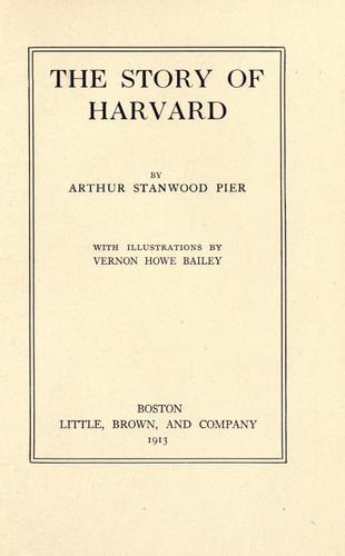 The story of Harvard