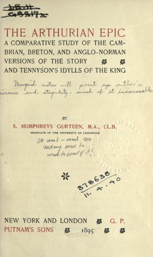 The Arthurian epic.