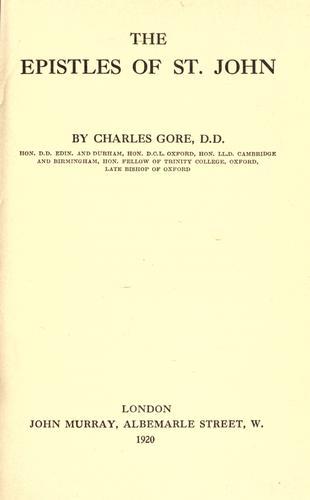 Download The Epistles of St. John
