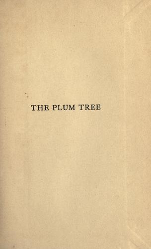 The plum tree.