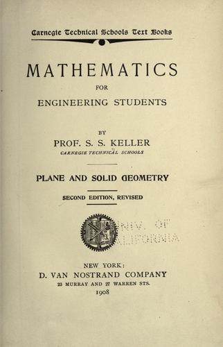 Download Mathematics for engineering students