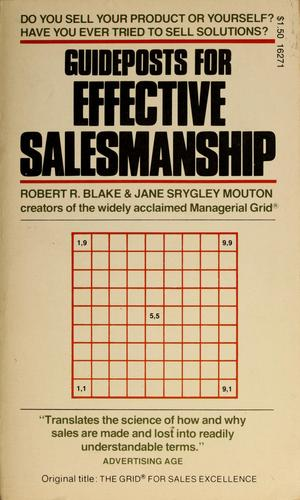Guideposts for effective salesmanship