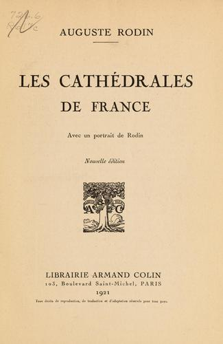 Download Les cathédrales de France