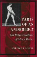 Image for Parts of an Andrology: On Representations of Men's Bodies