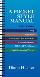 Download A pocket style manual