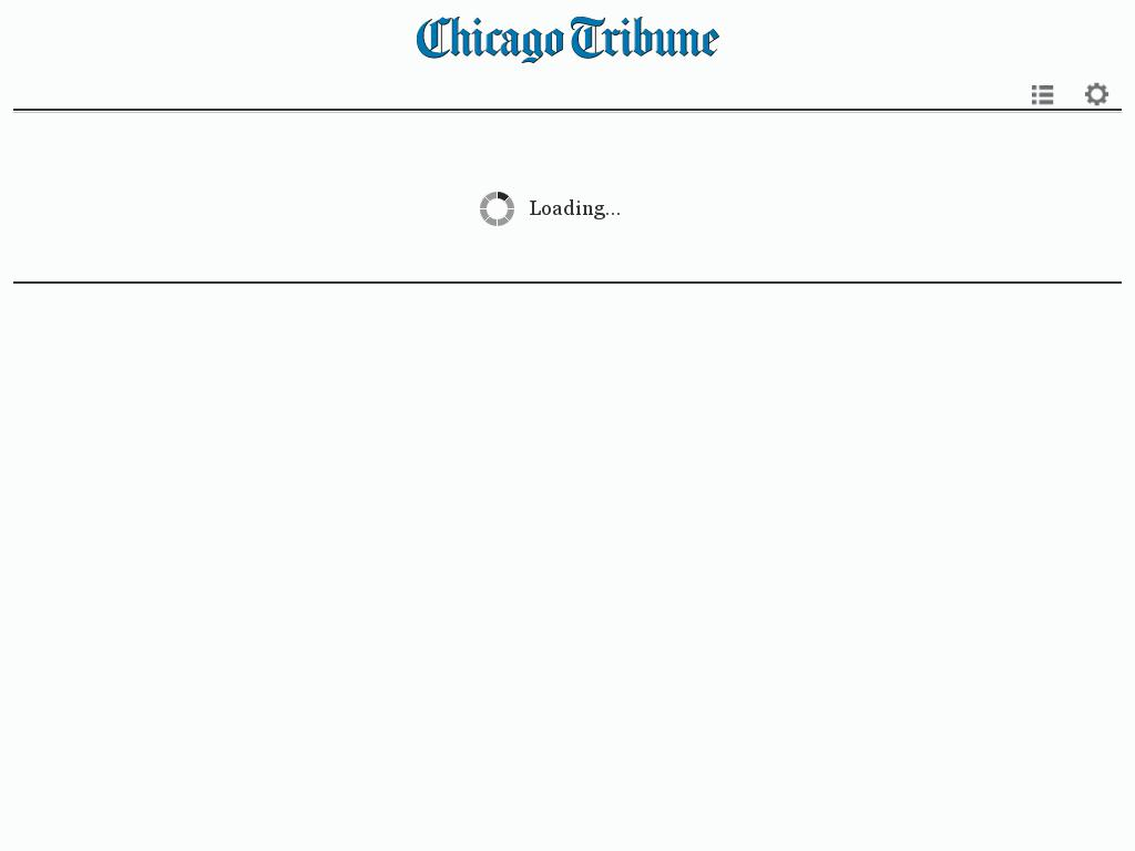 Chicago Tribune at Tuesday Feb. 9, 2016, 6:40 a.m. UTC