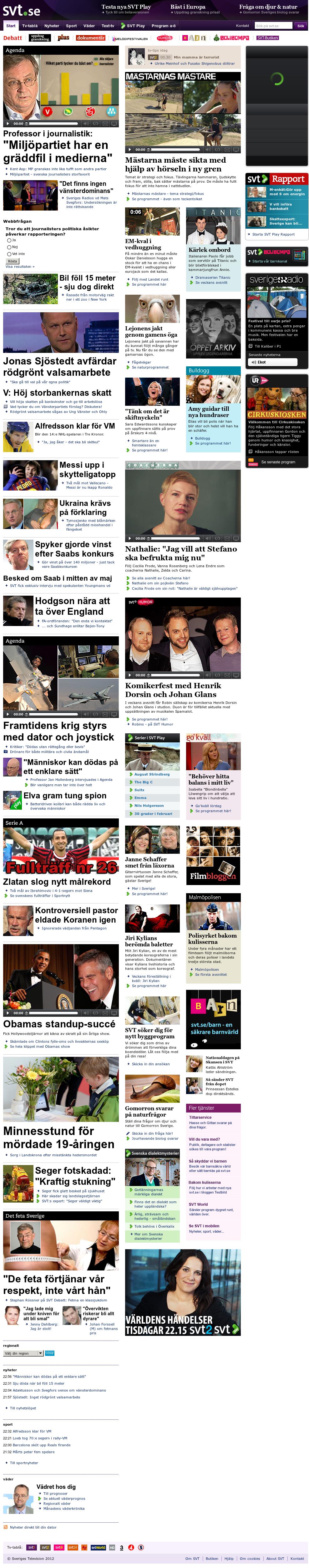 SVT at Sunday April 29, 2012, 10:23 p.m. UTC