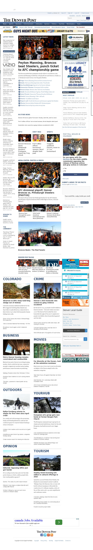 Denver Post at Monday Jan. 18, 2016, 7:04 a.m. UTC
