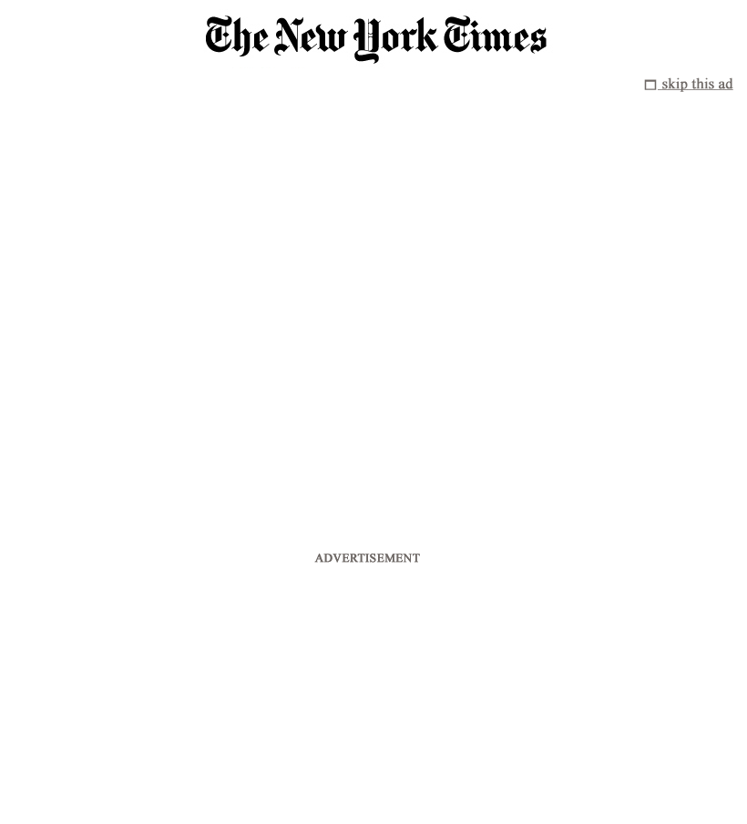 The New York Times at Wednesday May 2, 2012, 3:09 p.m. UTC