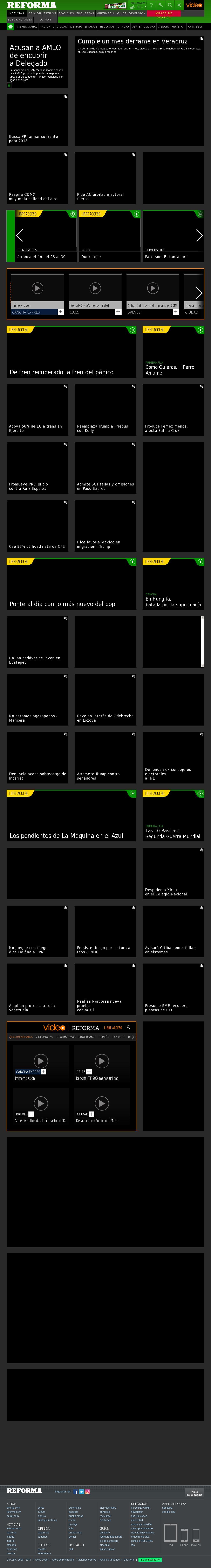 Reforma.com at Friday July 28, 2017, 11:16 p.m. UTC