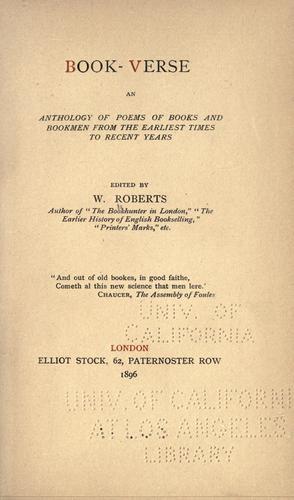 Book-verse