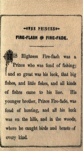 The Princes Fire-flash & Fire-fade by