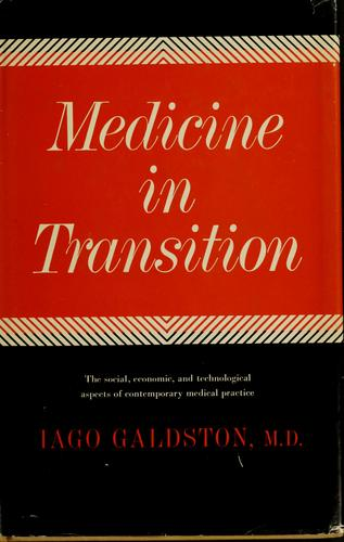 Medicine in transition